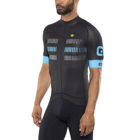 Alé Cycling Graphics PRR Strada Short Sleeve Jersey Men black-cyan
